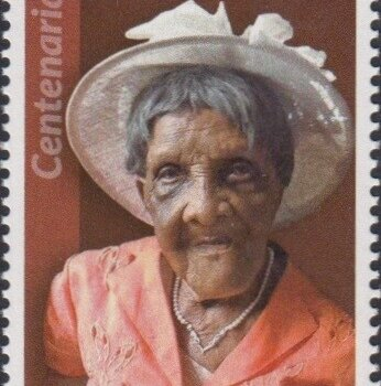 Barbados Centenarians - Barbados 65c Stamp – Edith Vimetta St. Clair Wilkinson