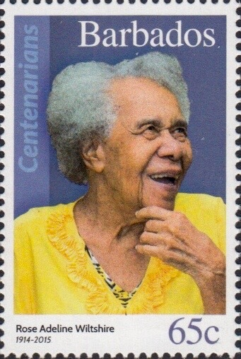 Barbados 65c Stamp – Rose Adelin Wiltshire