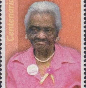Barbados Centenarians - Barbados 65c Stamp – Olive Augusta Licorish