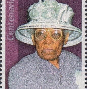 Barbados Centenarians - Barbados 65c Stamp – Elaine Ometa Walkes