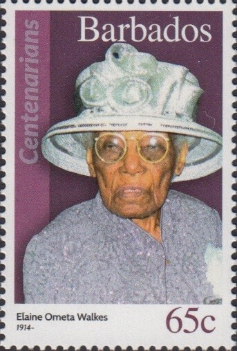 Barbados 65c Stamp – Elaine Ometa Walkes