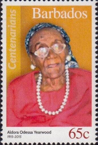 Barbados 65c Stamp – Aldora Yearwood
