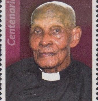 Barbados Centenarians - Barbados 65c Stamp – Rev C. Vincent S Belle