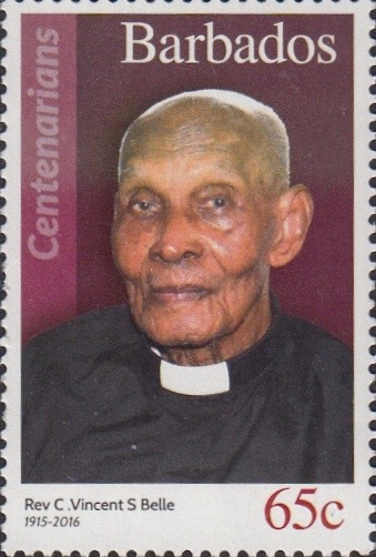 Barbados 65c Stamp – Rev C. Vincent S Belle