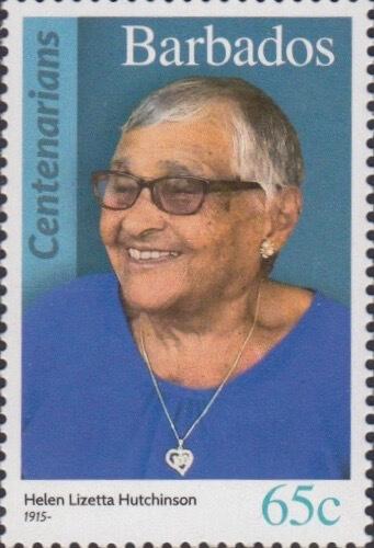 Barbados 65c Stamp – Helen Lizetta Hutchinson