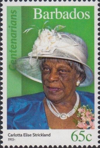 Barbados 65c Stamp – Carlotta Elise Strickland