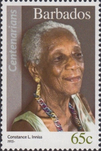 Barbados 65c Stamp – Constance L. Inniss