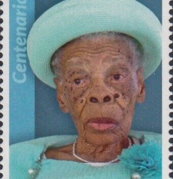 Barbados Centenarians - Barbados 65c Stamp – Alicia Waithe