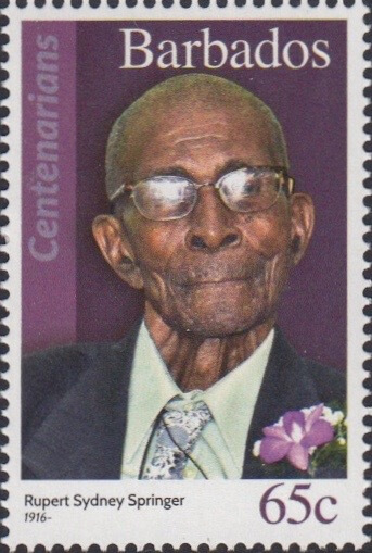 Barbados 65c Stamp – Rupert Springer