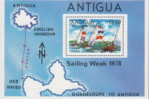 Antigua Sailing week 1978