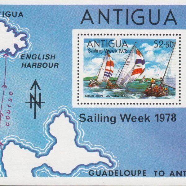 Antigua Sailing week 1978
