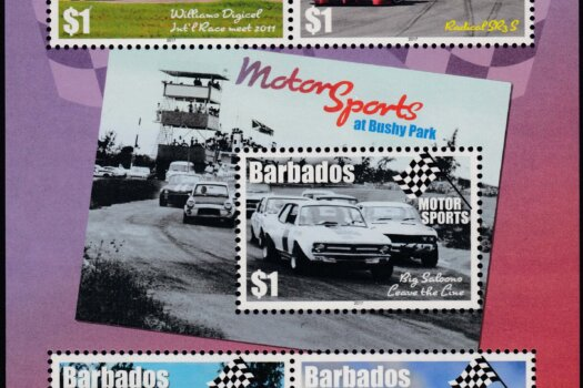 Barbados Motor Sport Mini Sheet - Bushey Park Barbados