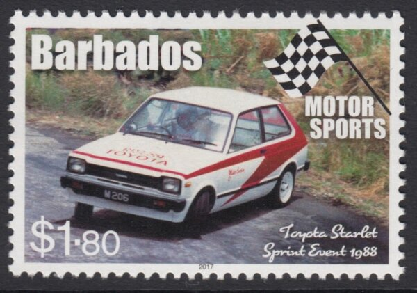 Barbados Motor Sports - $1.80 Toyota Starlet Sprint Event 1988
