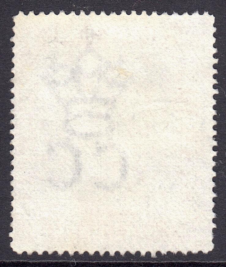 Barbados SG150 | Nelson Centenary 6d Black & Mauve used - reverse