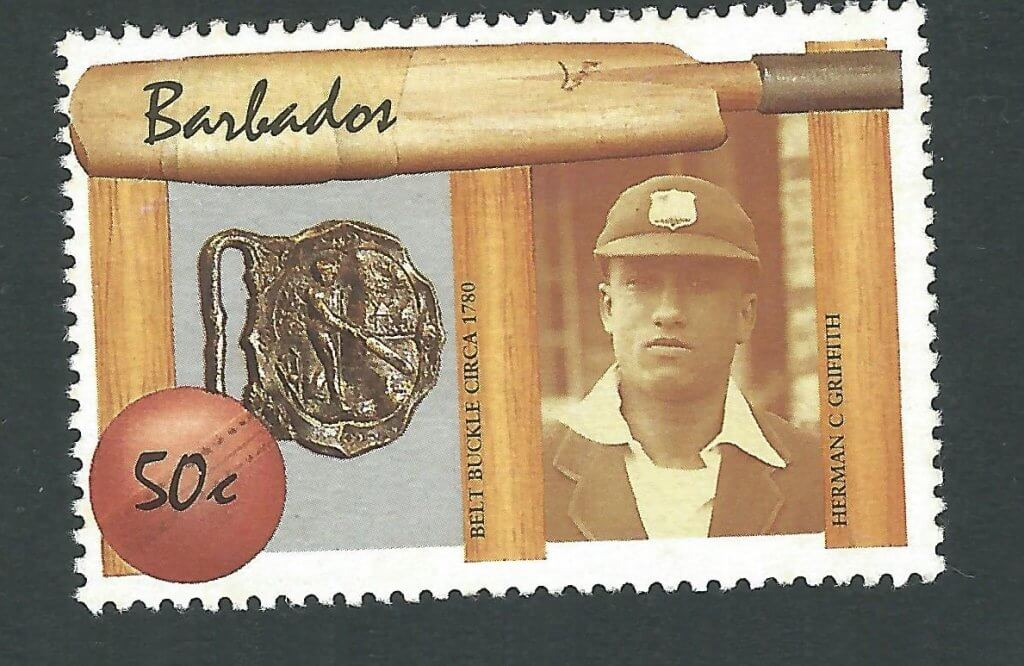 Barbados Cricketer Error - E. Lawson Bartlett instead of Herman C. Griffith