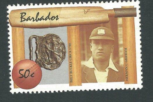 Barbados Cricketer Error - E. Lawson Bartlett instead of Herman C. Griffith