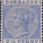 Barbados SG94 Deep Blue