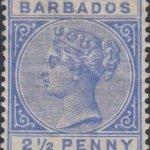 Barbados SG94 Deep Blue