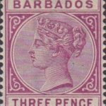 Barbados SG95 3d Deep Purple