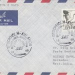 Stockholm, Sweden to Barbados First Flight Cover 1969
