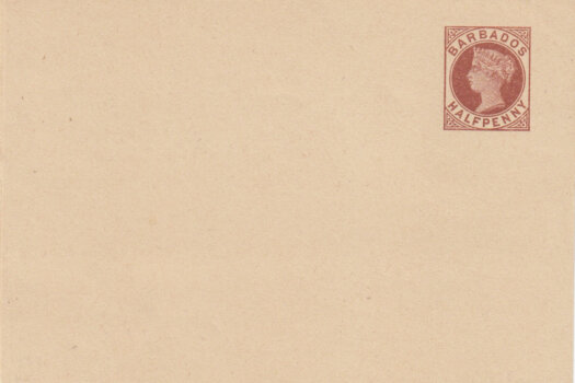 Barbados 1882 | Newspaper Wrapper ½d brown HGE1