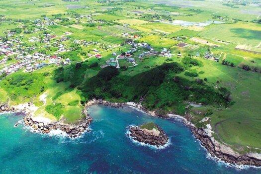Barbados Stamps Pre Paid Postcard - Culpepper Island