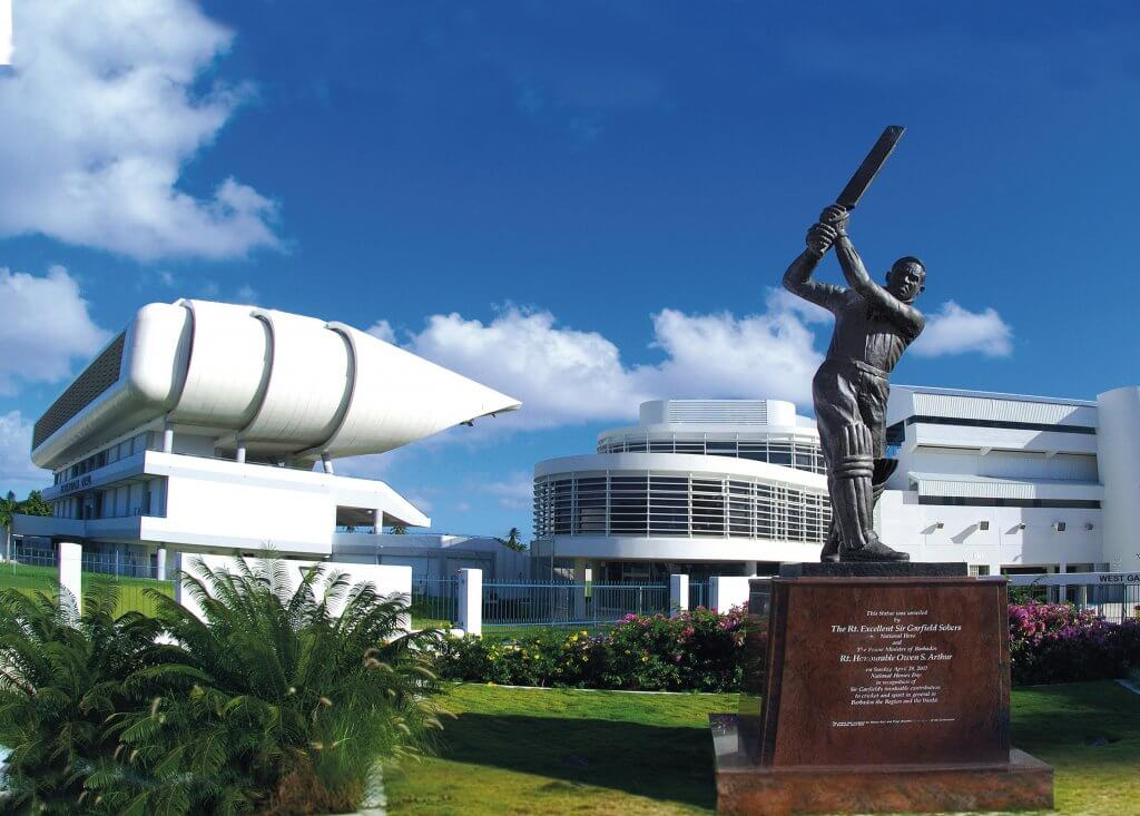Barbados Stamps Pre Paid Postcard - Kensington Oval