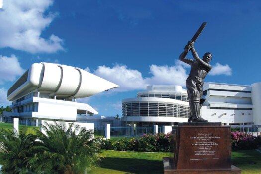 Barbados Stamps Pre Paid Postcard - Kensington Oval