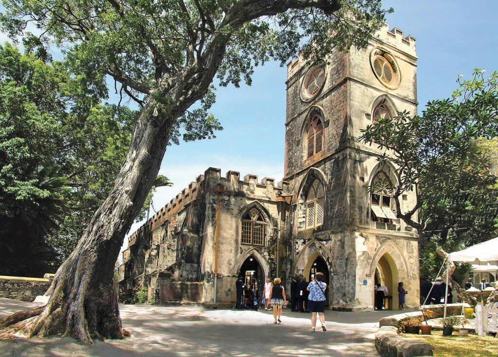 Barbados Stamps Pre Paid Postcard - St. John's Parish Church