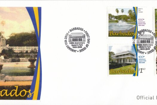 Barbados 2010 - 100th Anniversary of Queens Park FDC
