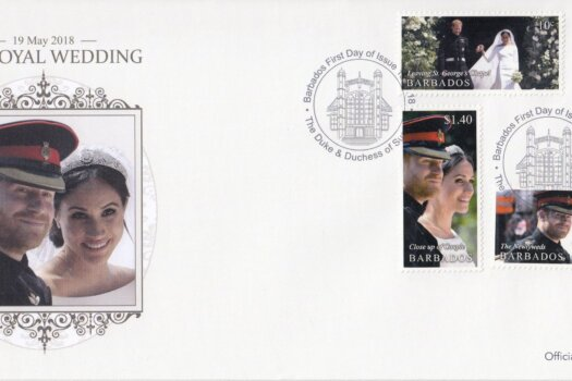 Barbados 2018 Royal Wedding Meghan and Harry First Day Cover
