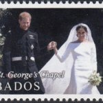 Barbados Royal Wedding 2018 – 10c stamp – Leaving St. George's Chapel