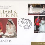 Barbados 2011 Royal Wedding Duke & Duchess of Cambridge FDC