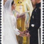 Barbados Royal Wedding 2018 – 65c stamp – Exchange of Vows