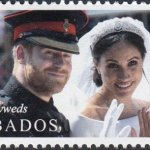 Barbados Royal Wedding 2018 – $2.20 stamp – The Newly Weds