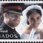 Barbados Royal Wedding 2018 – $2.20 stamp – The Newly Weds
