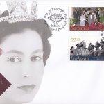 Barbados 2012 HRH Queen Elizabeth II Diamond Jubilee FDC