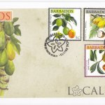 Barbados 2011 Local Fruits FDC - 3