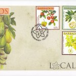 Barbados 2011 Local Fruits FDC - 2