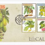 Barbados 2011 Local Fruits FDC - 1