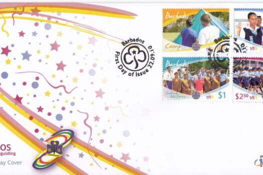 Barbados 2010 Girl Guides FDC