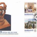 Barbados 2018 The Royal Commonwealth Society FDC