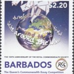 The Queen's Commonwealth Essay Competition - The Royal Commonwealth Society 2018 | Barbados Stamps