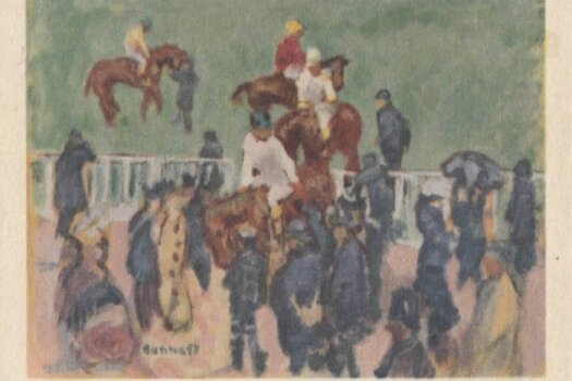 Barbados Horse Racing Commemorative or Souvenir Postcard 4