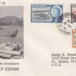 Barbados Deep Water Harbour FDC 1961 - illustrated cover