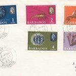 Barbados Marine Life FDC 1965 (1) - plain cover