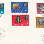 Barbados 1965 Marine Life FDC (2) - plain cover