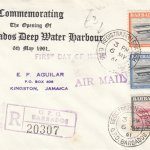 Barbados Deep Water Harbour FDC 1966 - plain cover