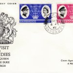 Barbados Royal Visit to the Caribbean FDC 1966 - illustrated cover