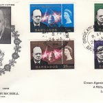 Barbados Sir Winston Churchill FDC 1966 - illustrated cover
